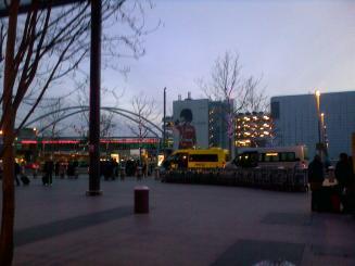 Outside Terminal 3