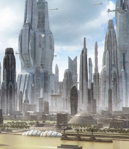 One of the new mega-cities