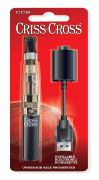 Criss Cross Kit. A basic intro to vaping.
