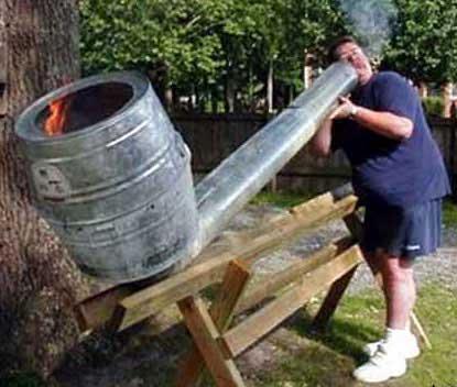 Billy Bob's Ice Bucket Challenge. (1/6)